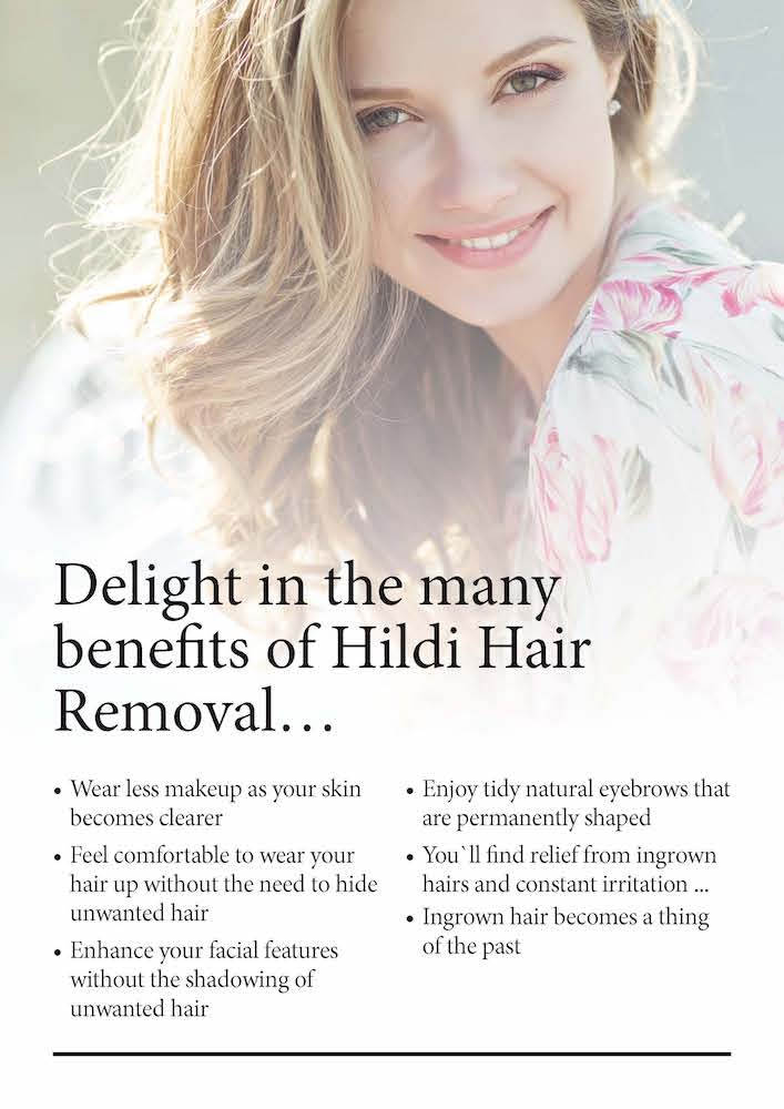 benefits of hildi hair removal