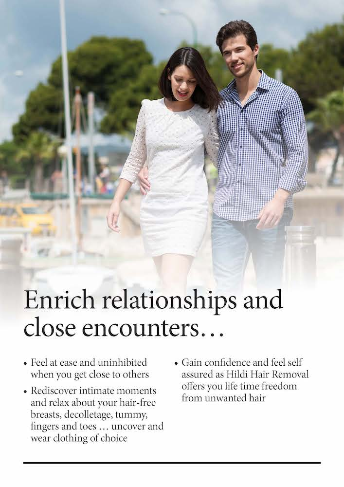 enrich your relationship with smoother skin