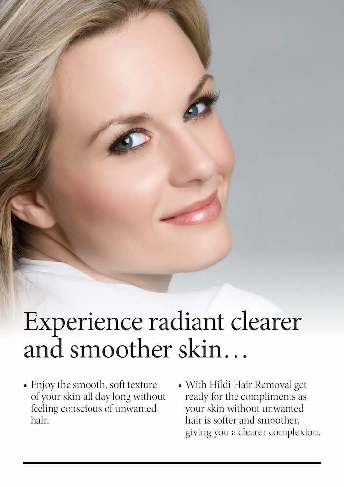 experience clear hairless radiant skin