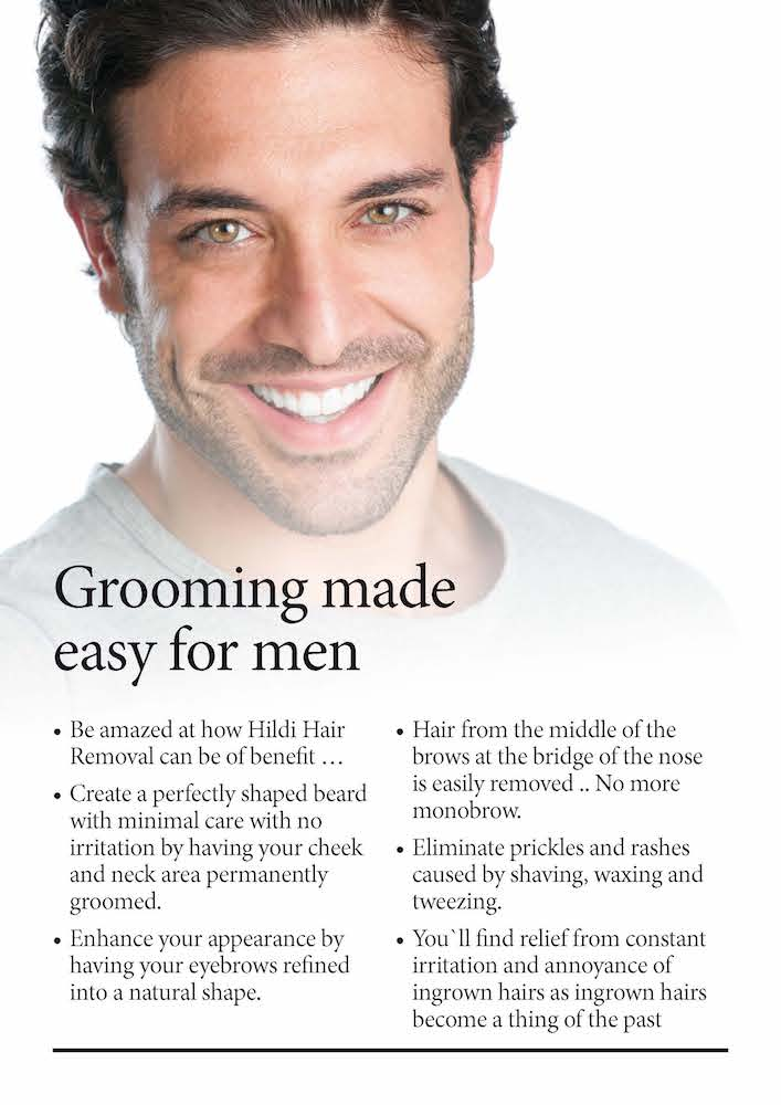 hair removal for mens skin grooming